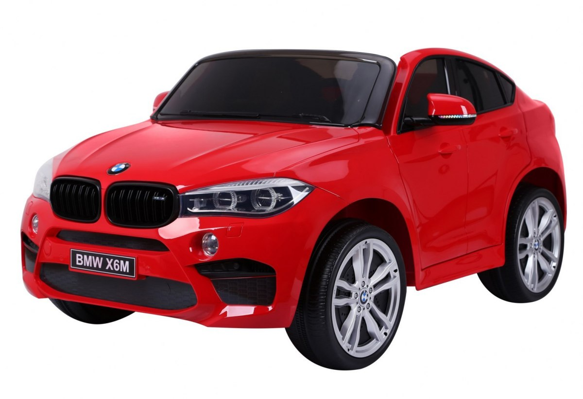Elektrické autíčko BMW X6 M , lakované, dvojmiestne